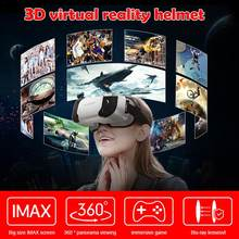 New VR Shinecon 5th Generations VR Glasses 3D Virtual Reality Glasses Lightweight Portable Box(China)