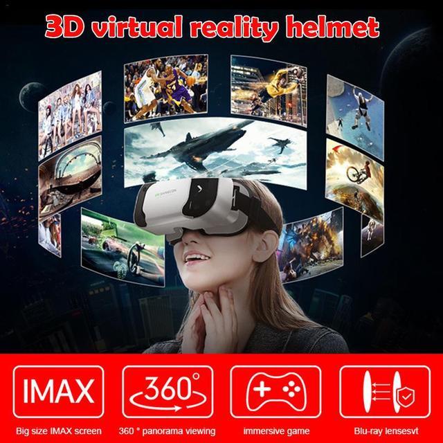 New VR Shinecon 5th Generations VR Glasses 3D Virtual Reality Glasses Lightweight Portable Box