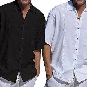 Мужская футболка с коротким рукавом, Повседневная облегающая футболка, спортивная одежда, 2019