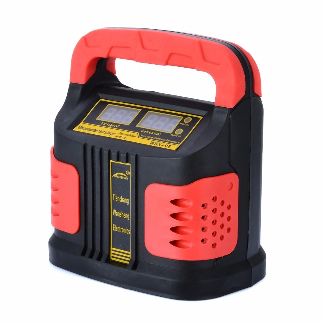 Nouveauté 1 pc 350 W 14A AUTO Plus ajuster LCD affichage chargeur de batterie 12 V-24 V voiture saut démarreur Portable