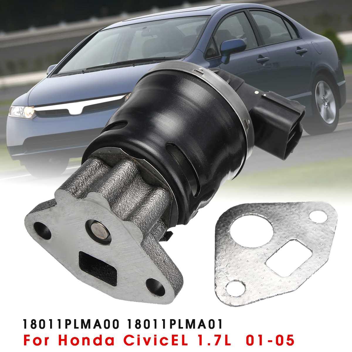 Emissions EGR Valve Kit 18011PLMA00 18011PLMA01 For Honda for Civic EL 1.7L 2.0L 2001 2002 2003 2004 2005Emissions EGR Valve Kit 18011PLMA00 18011PLMA01 For Honda for Civic EL 1.7L 2.0L 2001 2002 2003 2004 2005