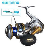 Новейший оригинальный Shimano BIOMASTER SW 6000 8000 10000 спиннинговая Рыболовная катушка 7BB X SHIP морская Рыболовная катушка