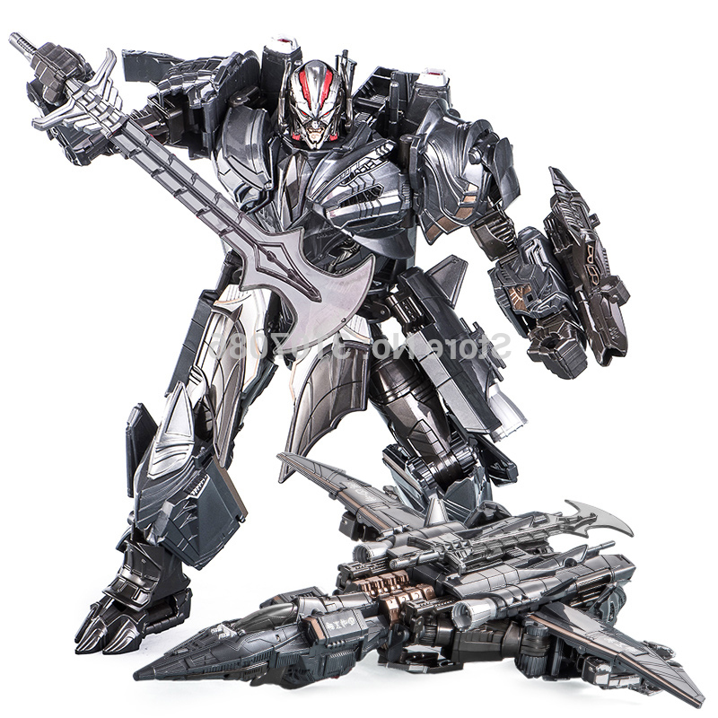 TOTOTOY Wei Jiang Transformation The Last Knight Mw001 Galvatron Mp36 Movie 5 Film Alloy Oversize Plane Action Figure Robot Toy image