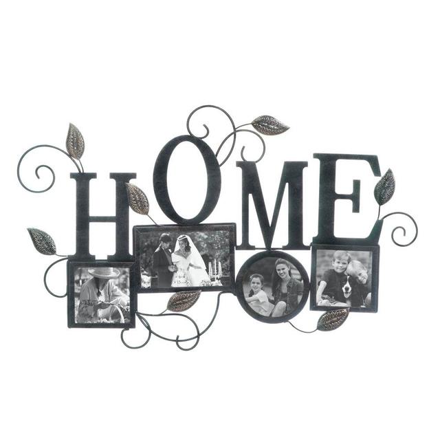 HOME 4-PHOTO WALL FRAME