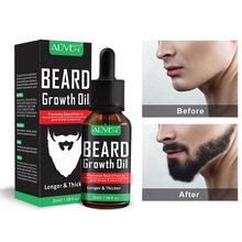 ALIVER для мужчин, Усилитель роста бороды, питание для лица, усы, средство для формирования бороды, средство для ухода за бородой, 30 мл