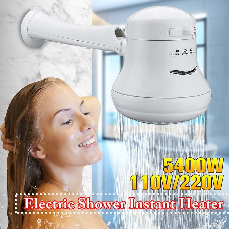 Temperature-Control Water-Heater Electric Instant Three-Water Mini 110V/220V 3800w--5400w-0.8-