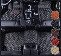 Car Front Rear PU Leather Floor Mats Set Liner Waterproof 5 Seat Custom Foot Mats For BMW 3 Series E90 F30 X3 E83 F25 X5 F15 E70