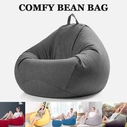 Bean Bag диван чехлы для стульев диван для отдыха Османской сиденье мебель гостиной без наполнителя Beanbag кровать пуф ленивый татами