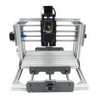DANIU 1pc 2417 Mini 3 axIs DIY CNC Router Wood Craving Engraving Cutting Milling Desktop Engraver Machine 240x170x65mm