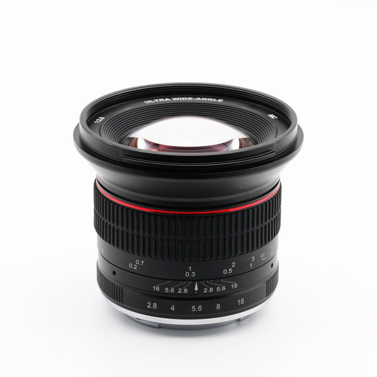 Objectif de EF-M manuel grand Angle 12mm f/2.8 pour Canon EOS M M2 M3 M5 M6 M10 M50 M100 Kiss M EOSM 12mm F2.8