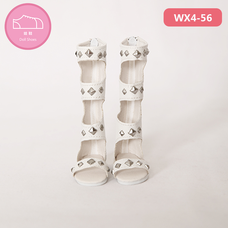 Shoes For BJD Doll 1/4 Littlegem Body PU Leather Boots Fashion Mini Toy Shoes for Doll Accessories