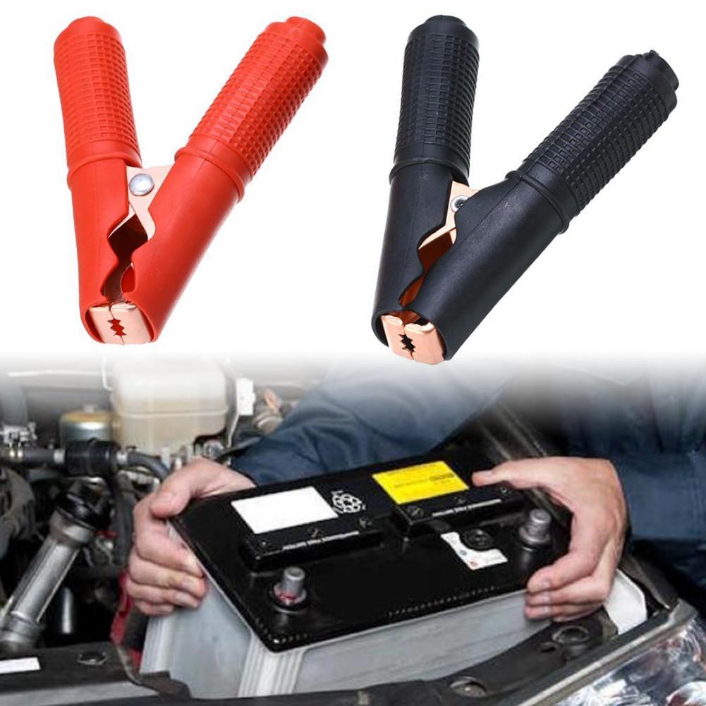 90 мм 100A Металл крепление для автомобильного аккумулятора Крокодил Аллигатор тесты зажим напряжение er мощность инструмент 12 В/24 В/48 В