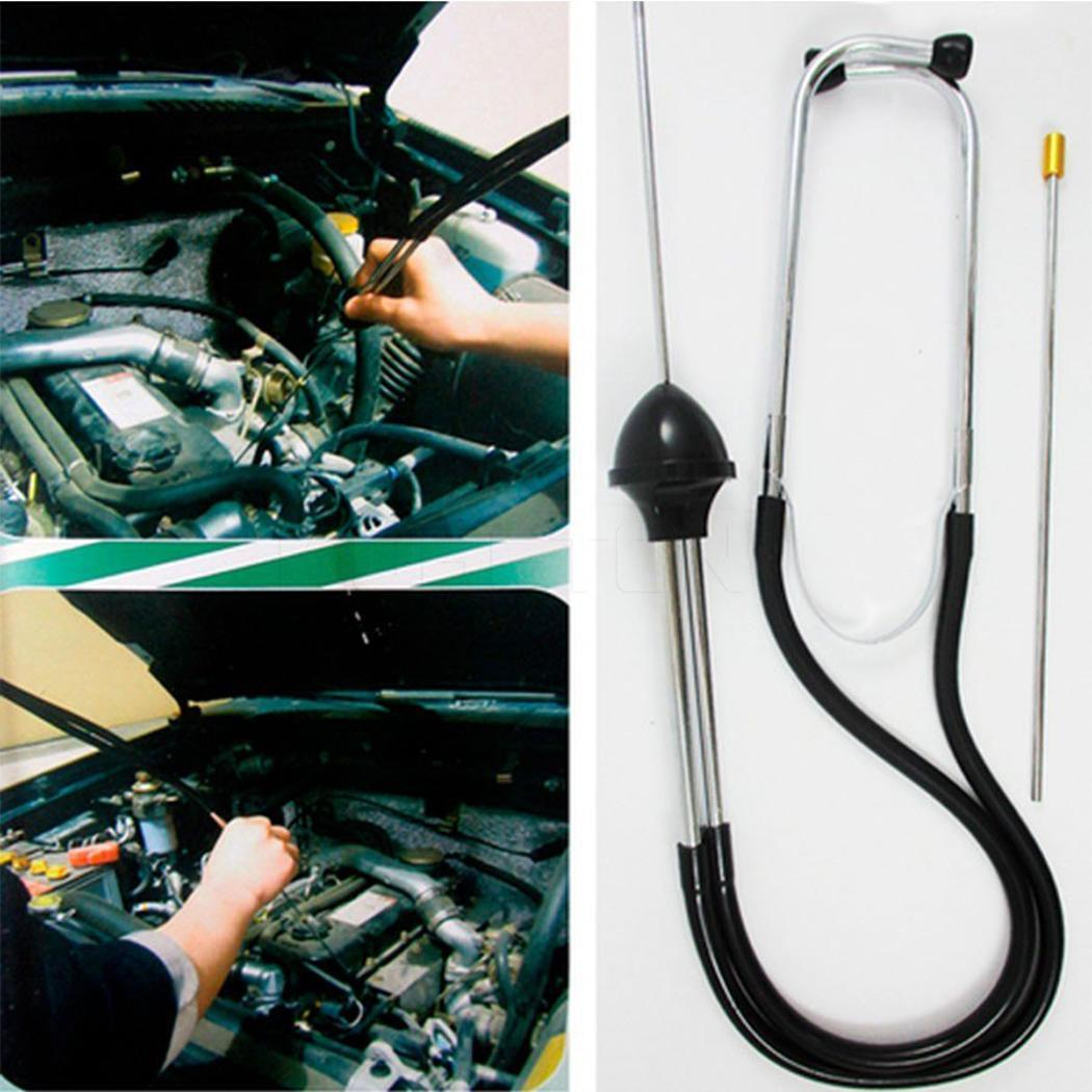 Image 2 - Free Shipping New Car Stethoscope Auto Mechanics Engine Cylinder Stethoscope Hearing Tool Car Engine Tester Diagnostic Tool-in Engine Analyzer from Automobiles & Motorcycles