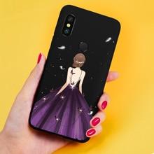 Luxury Case For Xiaomi Redmi Note 7 5 6 Pro Silicone Cover Patterned Dress Bumper 4x Funda Coque