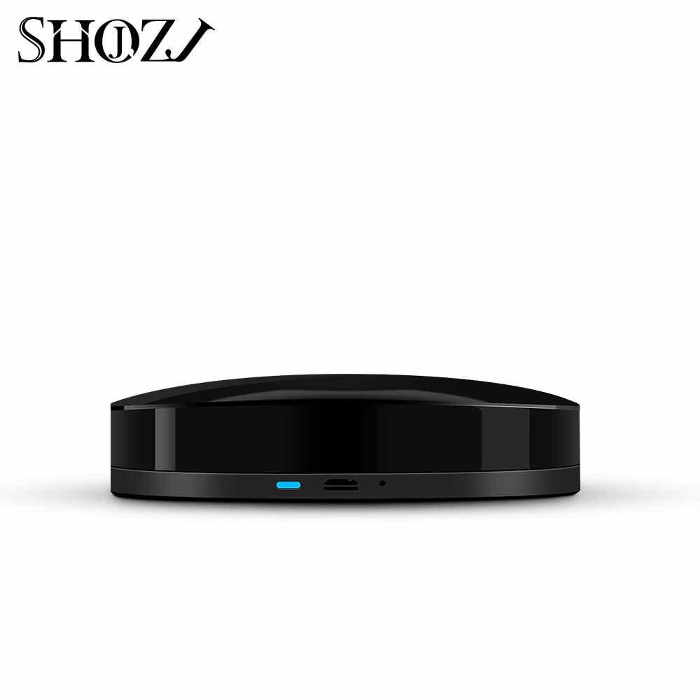 Sterowanie głosowe Alexa Google domu TUYA uniwersalny inteligentny pilot zdalnego inteligentnego domu automatyki inteligentnego domu WIFI + IR + RF do inteligentny dom SHOJZJ