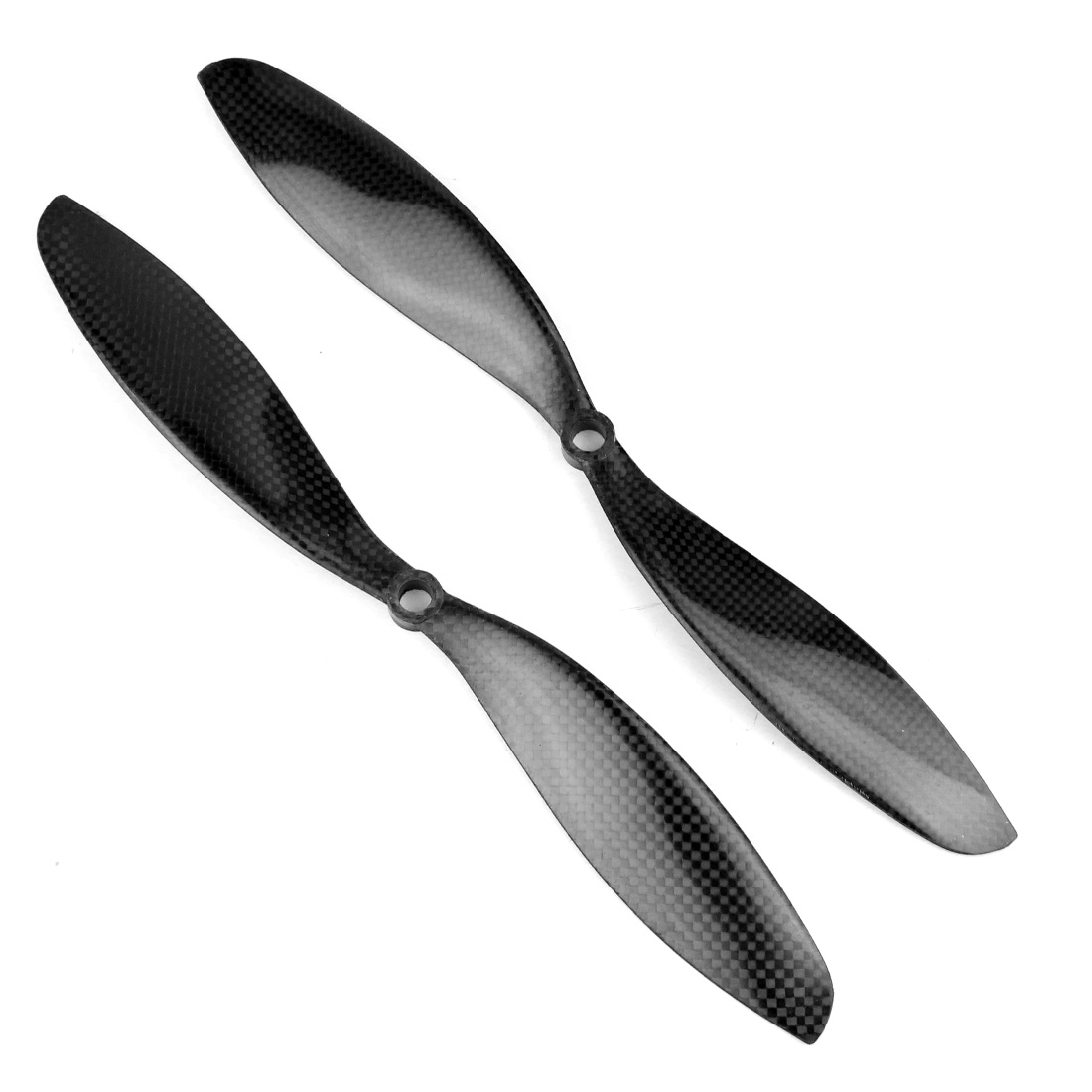 1 pair Real Carbon Fiber Propeller Prop CW//CCW 1047 RC Quadcopter Multicopter