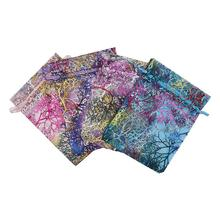 7ce563103 10 unids/lote joyería 7x9 cm 9x12 cm 10x15 cm, 13x18 cm de bolsas de  embalaje de bolsas de Organza de boda caramelo bolsa de reg.
