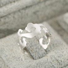 925 Sterling Silver Rings For Women clouds Open Ring Hypoallergenic Sterling Silver Jewelry Gifts For Girls недорого