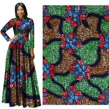 2019 New Ethnic Wind Cotton Printed Fabric Plain Geometric  african ankara fabric Batik cotton