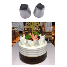 Stainless steel Large Size Square Icing Piping Nozzles Cake Decorating Pastry Tip Sets Fondant Mold Tools