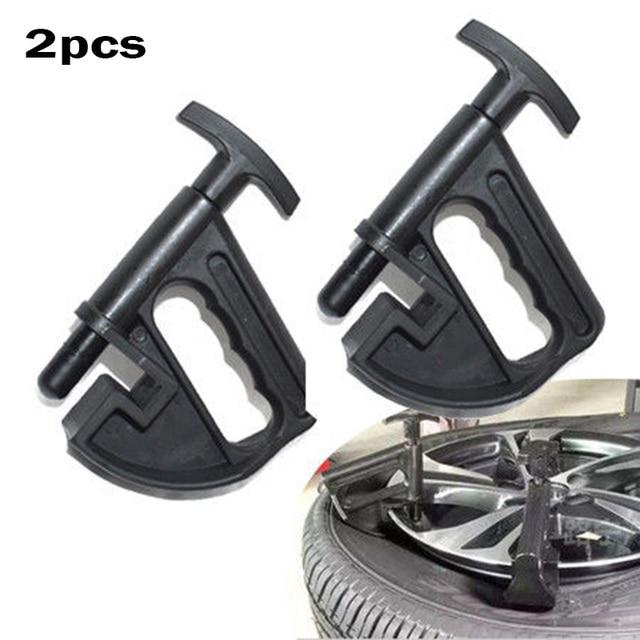 2 unids/set negro Manual cambiador de neumáticos abrazadera de cuentas cambiador de cuentas