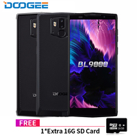 DOOGEE BL9000 Smartphone 6GB 64GB Helio P23 Octa Core 5V5A Flash Charge 9000mAh Wireless Charge 5.99&quot FHD+ Android 8.1