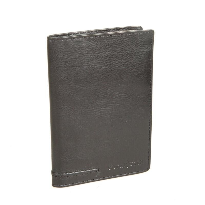 Passport cover Gianni Conti 707455 black цена 2017