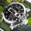 MEGALITH часы мужские светящиеся водонепроницаемые спортивные повседневные мужские часы Лидирующий бренд Роскошные светодиодные аналоговые ...