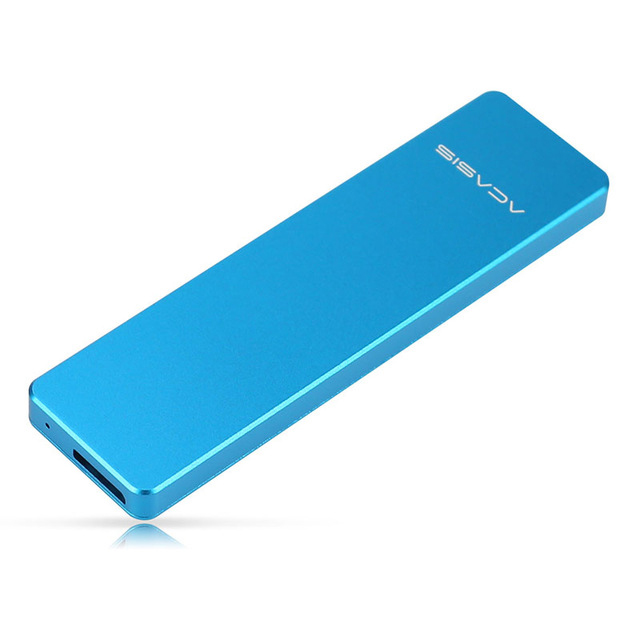 Acasis Fa-2423 Ssd Enclosure Hard Disk Drive Case For M2 Ngff M.2 Ssd Case For External Ssd Usb 3.0 Case 2242/2260/2280