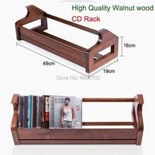 Cd-Rack Cd-Box Wood Walnut Caja Cd-Storage You Cd-Make Retro-Style Beautifull High-End