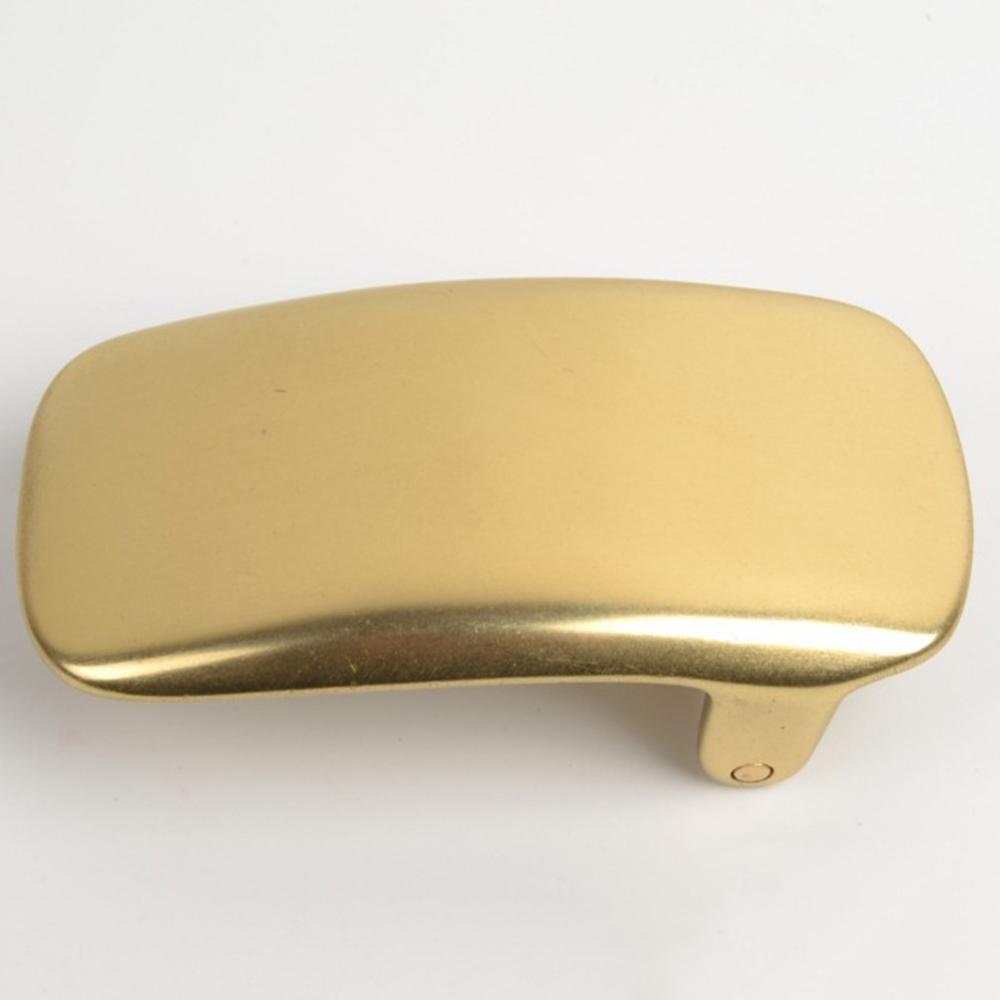 CUKUP 30mm Design Inner Diameter Male Designer Casual Styles Solid Copper Smooth Gold Belt Buckles Man Brass Metal Men BRK055