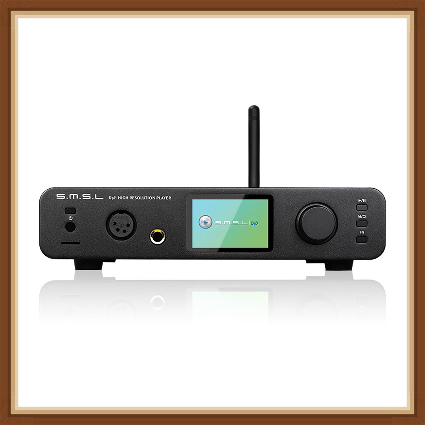SMSL DP3 Hi Res Digital Player ES9018Q2C DAC Chip 32Bit 384Khz DSD256 two way Bluetooth WIFI