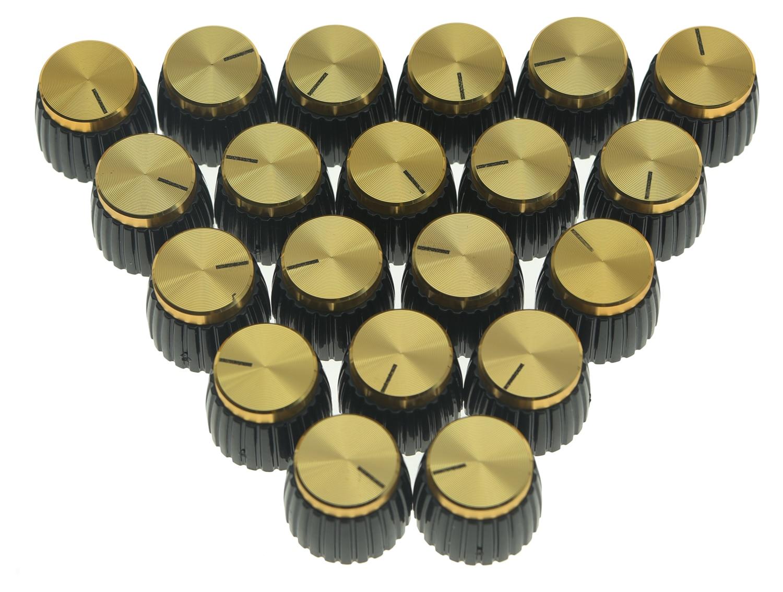 Gold Cap Marshall Replacement Guitar Amp Knob Set Screw