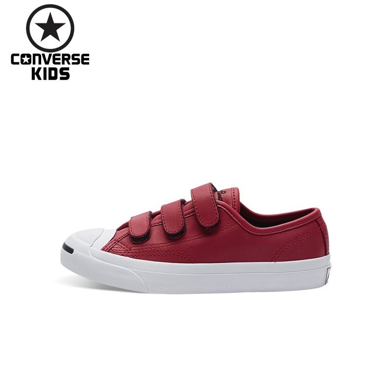 CONVERSE KIDS Shoes Classic Hatch Laugh Magic Subsidies Breathable Sneakers For Boys And Girls #360242C-H converse child shoes classic hatch laugh low help magic subsidies canvas children shoes 362179c