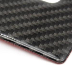 Image 3 - メルセデス · ベンツ c クラス W205 C180 C200 C300 GLC260 炭素繊維車の水カップホルダーパネルカバー