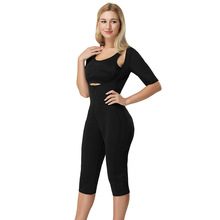 ZYSK Body Shaper Sauna Workouts Fajas Zip Up Full Shapewear Sweat Slimming Neoprene Suit Waist Trainer Pulling Underwear