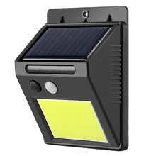 48 Led impermeable Led de pared exterior Solar luz nocturna Sensor de movimiento automático interruptor calle seguridad jardín lámpara(China)