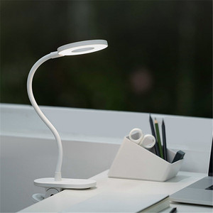 Image 2 - الأصلي Yeelight 5 واط LED USB قابلة للشحن كليب مكتب الجدول مصباح حماية العين اللمس باهتة 3 طرق القراءة مصباح لغرفة النوم