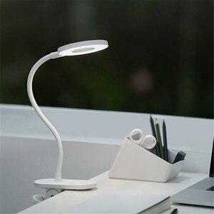 Image 2 - מקורי Yeelight 5W LED USB נטענת קליפ שולחן שולחן מנורת עין הגנה מגע דימר 3 מצבי קריאת מנורת עבור שינה