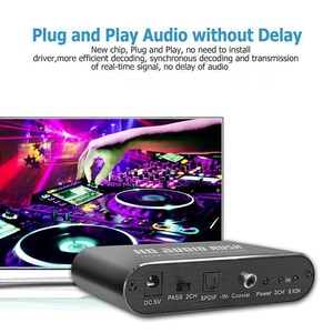 Image 5 - 5.1 قناة HD الصوت راش المحيطي الرقمي الصوت فك محول صوت DVD