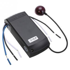 Image 5 - Casa lâmpada universal digital sem fio ventilador de teto luz tempo controle remoto 220/240v 50hz 2w