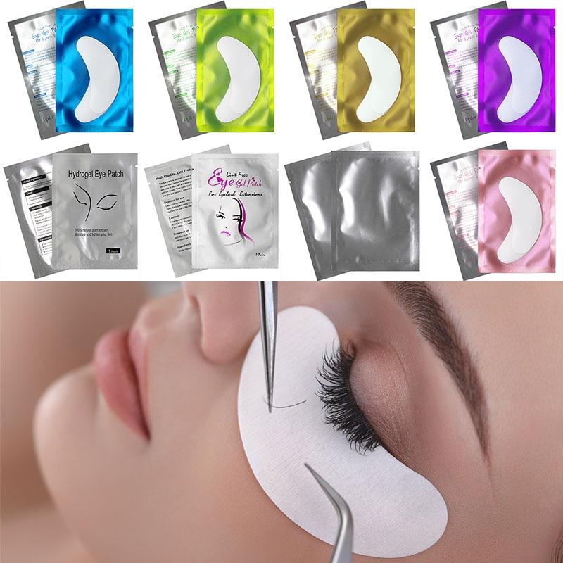 Kimcci 10/20 Pairs New Paper Patches Eyelash Under Eye Pads Lash Grafting Eyelash Extension Eye Tips Sticker Wraps Make Up Tools