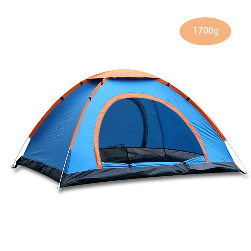 Outdoor Portable Waterproof Hiking Camping Tent Anti-UV 2/4 Person Ultralight Folding Tent Automatic Open Sun ShadeOutdoor Portable Waterproof Hiking Camping Tent Anti-UV 2/4 Person Ultralight Folding Tent Automatic Open Sun Shade