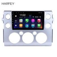 Harfey Android 8,1 для 2007 2018 Toyota FJ CRUISER 9 радио gps навигация Bluetooth 3g WiFi Автомобильный мультимедийный плеер заднего вида SWC