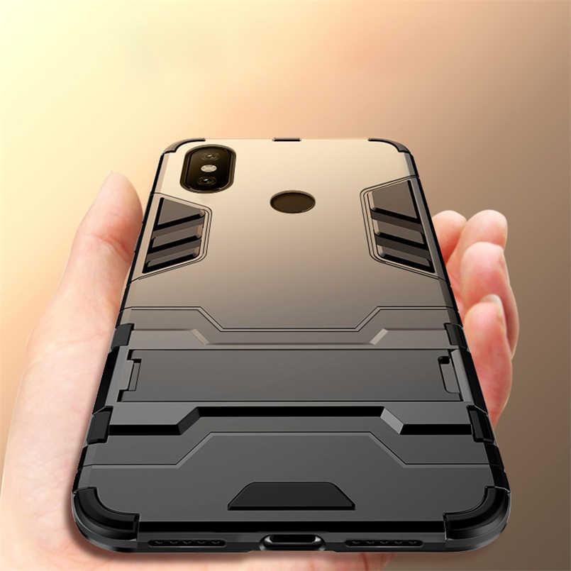 حافظة رفيعة مضادة للصدمات لهاتف Xiao mi PocoPhone A1 A2 F1 Max 3 2 حالات مسند مدرعة هجينة لهاتف Xiao mi A2 Lite mi x 2 2s 8SE raie