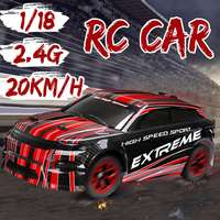 1/18 RC Truck 2.4G High Speed Off Road Remote Control Drift Racing Car Crawler Full Functions Plastic+Electronic component