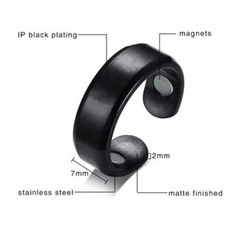 Mode minceur anneau de doigt Micro magnétique perte de poids anneau de doigt graisse brûlant chaîne stimulant Acupoints Fitness soins de santé
