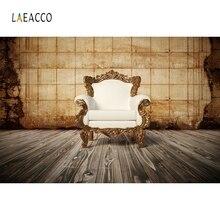 Laeacco Vintage Wall Sofa luxurious Backdrop Retro Portrait Photography Background Photographic Backdrops For Photo Studio