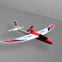 Zabawkowy samolot dzieci dzieci opływowy prezent kondensator ręczny rzucanie elektryczny Model edukacyjny zabawny DIY szybowiec piana RC samolot