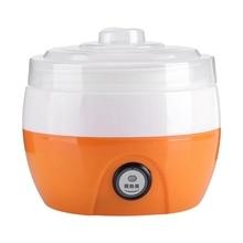 Sanq elétrica automática máquina de fazer iogurte ferramenta diy recipiente plástico aparelho cozinha plugue da ue